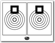 graphic relating to Printable Sniper Targets known as Printable Taking pictures Plans and Gun Aims NSSF