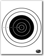 photograph regarding Printable Bullseye Target titled Printable Capturing Ambitions and Gun Goals NSSF