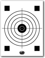 photograph about Printable Bullseye Target referred to as Printable Taking pictures Objectives and Gun Goals NSSF